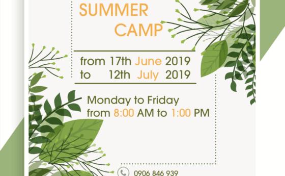 Summer Camp 2019 !